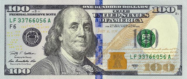 Новая банкнота 100 долларов » ИнвестКонтакт